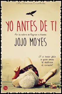 Reseña: Yo antes de ti de Jojo Moyes