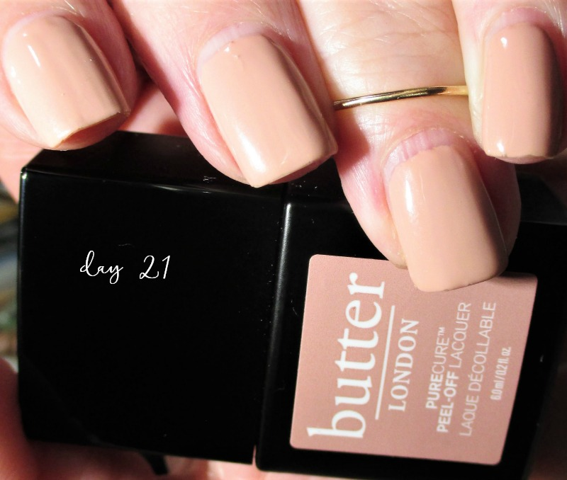 Love It or Lose It? | Testing the Butter London PureCure Peel the Love Gel Manicure System  21 Days Wear
