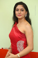 Actress Zahida Sam Latest Stills in Red Long Dress at Badragiri Movie Opening .COM 0058.JPG