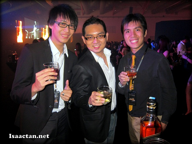 isaac tan and his friends