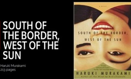 haruki murakami and a message about your question on south of the border