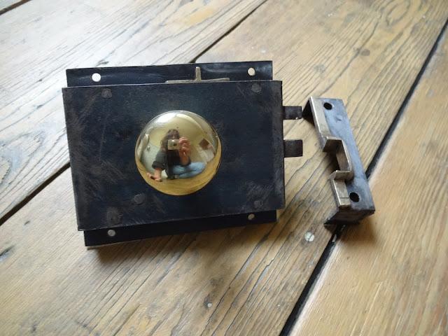 rim lock restoration