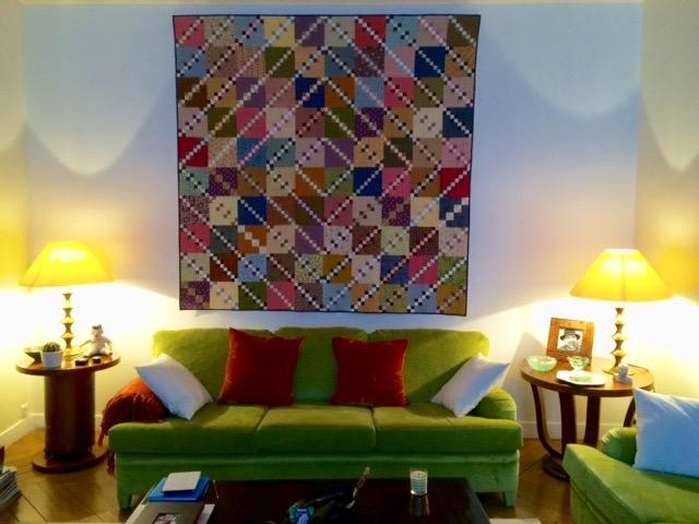Double Four Patch quilt