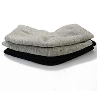 makhry silicone moisturizing gel heel socks