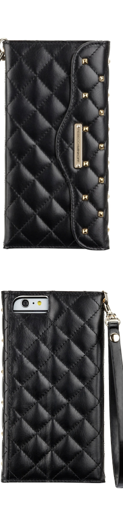 Rebecca Minkoff x case mate iphone 6 quilted wristlet