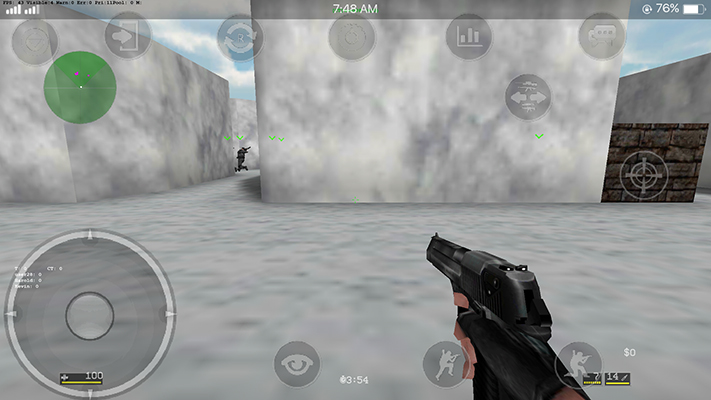 Oppo F3 Counter Strike Games