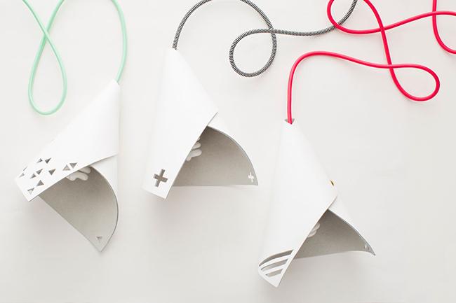 DIY: hazte TU PROPIA L�MPARA con cable de colores y un trozo de cuero!