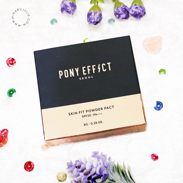 MEMEBOX PONY EFFECT Skin Fit Powder Pact