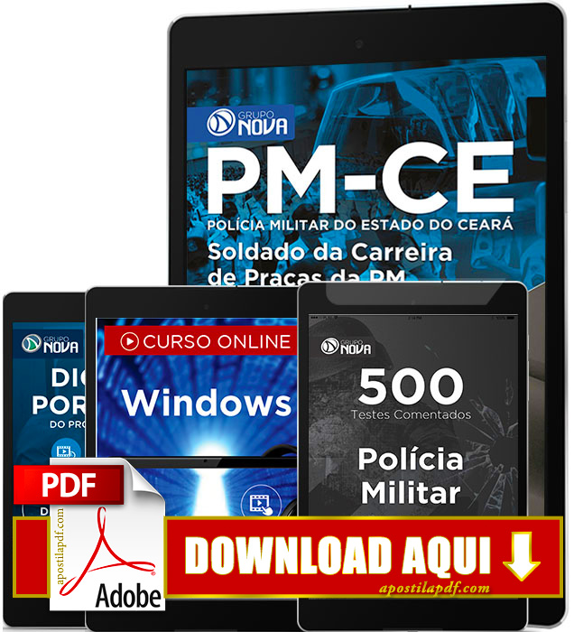 Apostila PM CE 2016 PDF Download Soldado