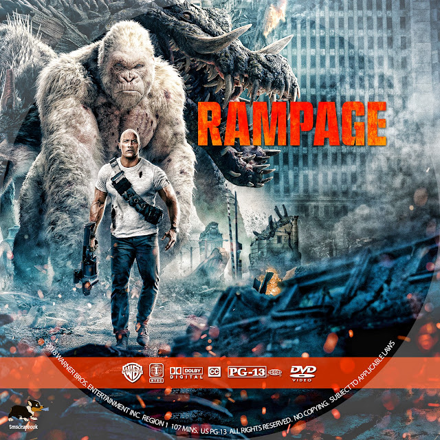 Rampage DVD Label