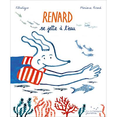 Renard se jette à l'eau, album jeunesse