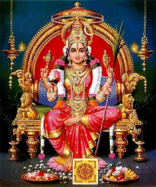 Lalitha Panchami Vrat during Navratri