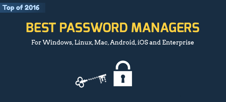 Best Password Manager For Windows Linux Mac Android