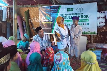 Terapi Healing dan Nasionalisme Bagi Anak Lombok