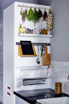 Tata Dengan Rapih Interior Dapur Kecil Anda