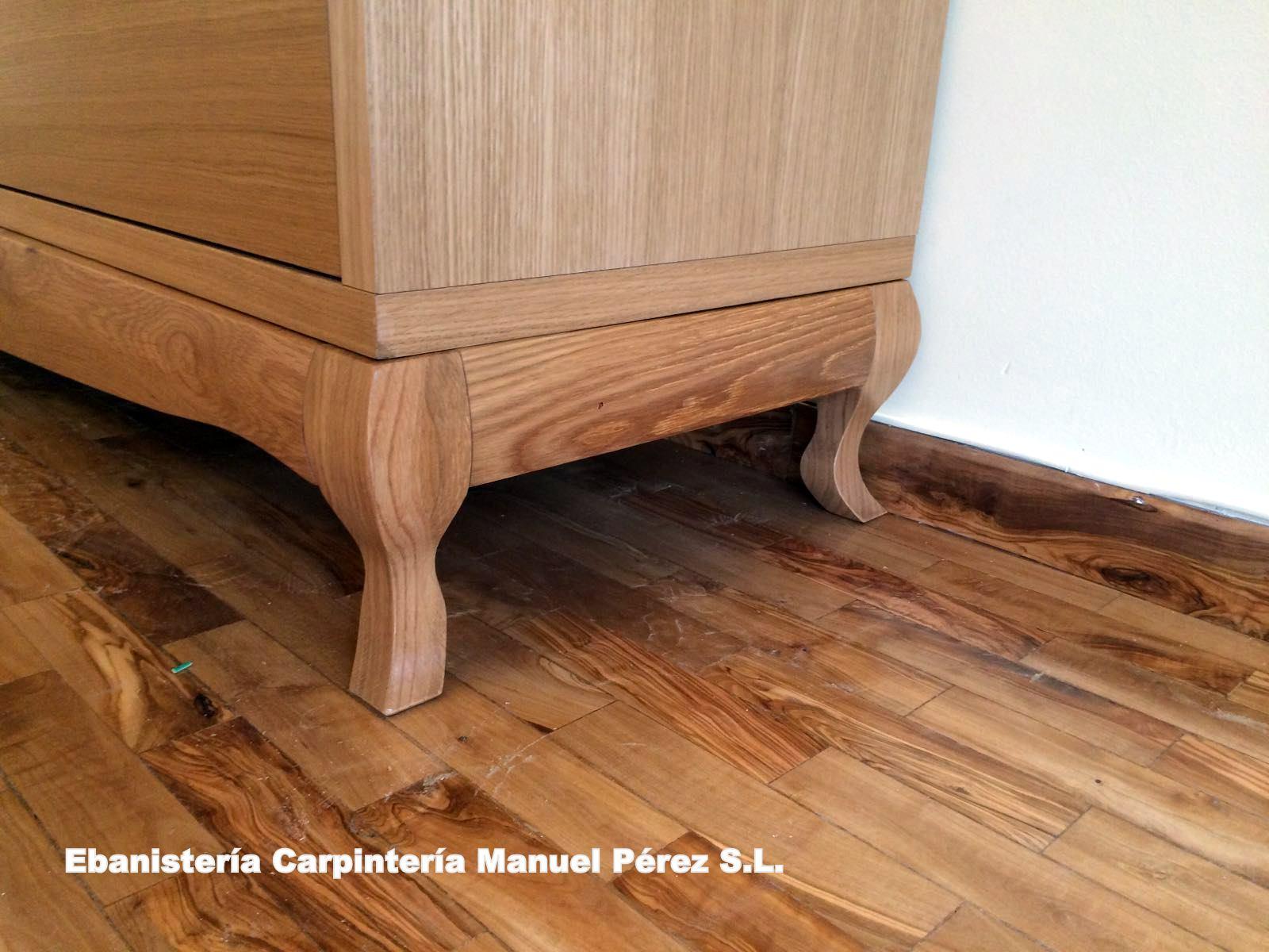 Ebanisteria carpinteria manuel perez zaragoza mueble - Muebles de madera a medida ...