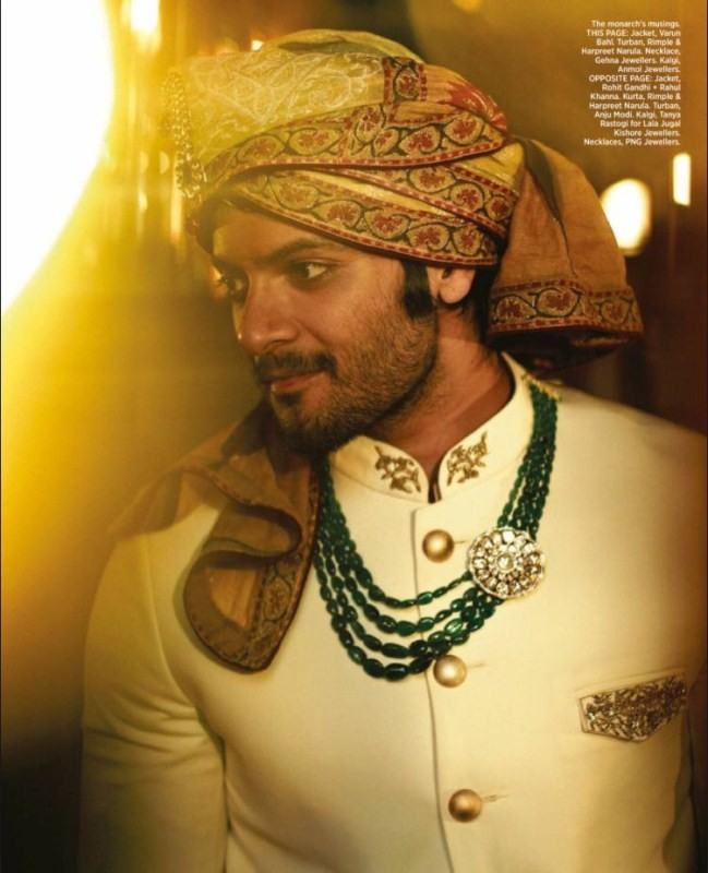 Ali Fazal Looks His Royal Best as He Graces Harpers Bazaar Men Magazine