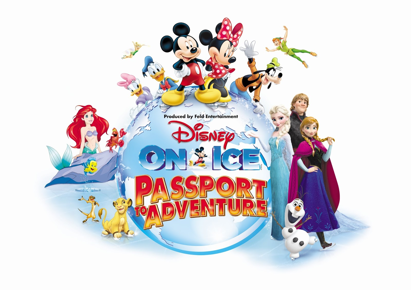 Why Heidi can't wait to watch The Little Mermaid in this year's Disney on Ice presents Passport to Adventure