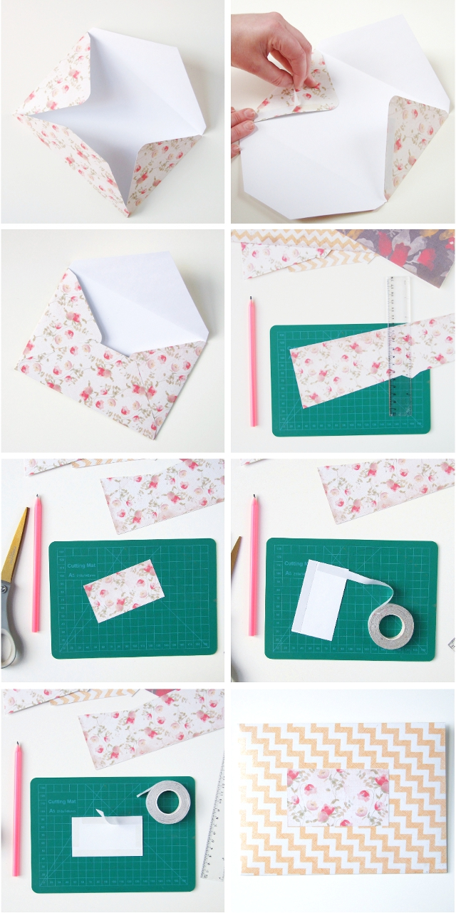 SWEET AND SIMPLE DIY SCRAPBOOK PAPER ENVELOPES ...