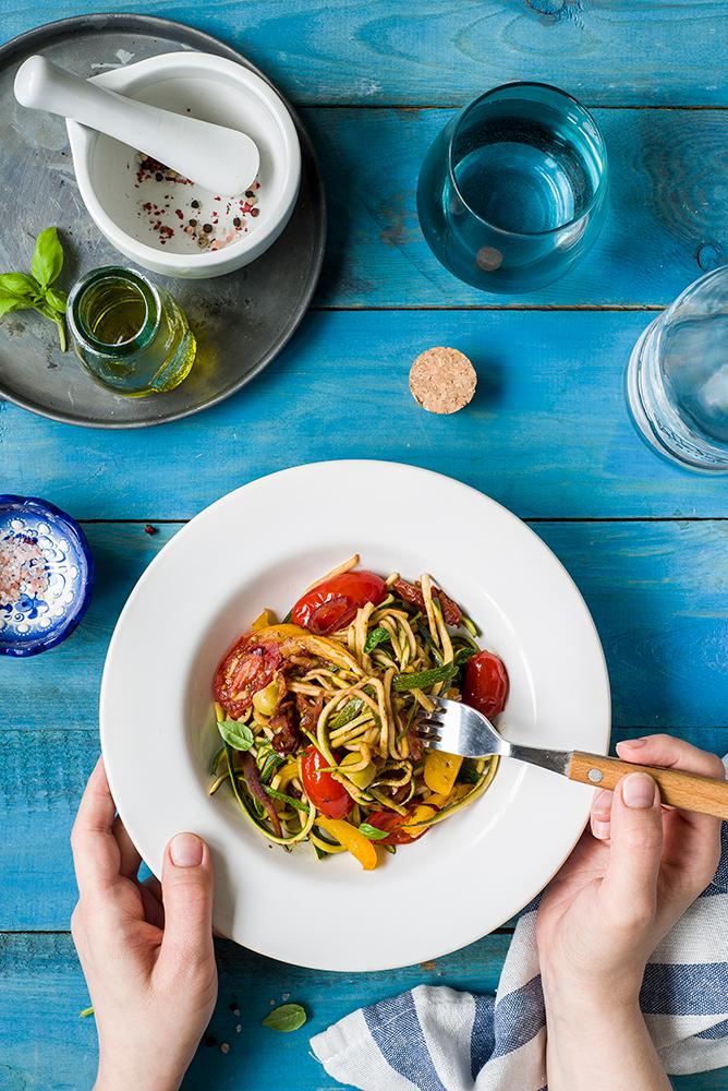 Spaghetti warzywne