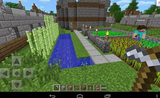 Minecraft Pocket Edition v1.1.0.55 Apk Full Free Update Mega Mod