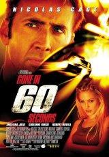 """Carátula del DVD: """"60 segundos"""""""