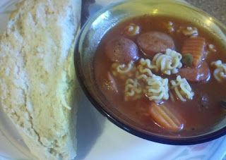 Smoke sausage recipes, Hearty soup, Filing meal for farmers, smoke sausage and radiatore soup,