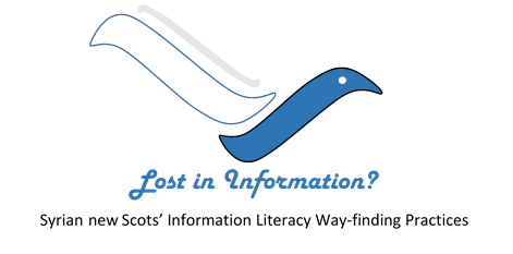 Lost in Information? Syrian new Scots Information Literacy Wayfinding-practices