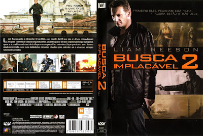 Filme Busca Implacável 2 ( Taken 2) DVD Capa