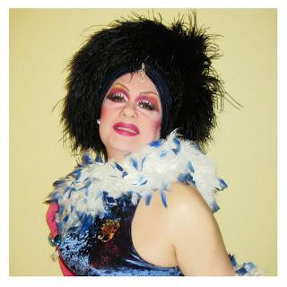 Drag queen Gabrielle en el II Orgullo LGBTI de Coslada y San Fernando de Henares