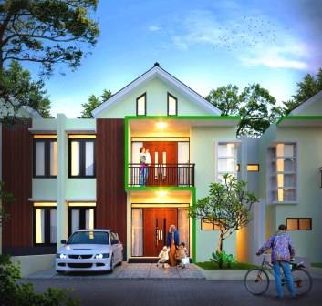 rumah 2 lantai 1 milyaran di depok   rawdhah residence