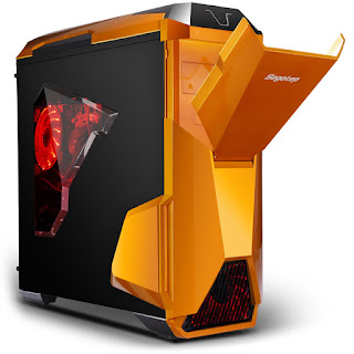 Segotep Warship EVO Mid Tower Gaming Computer Case