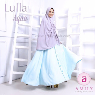 Gamis Amily Lulla Dress Aqua