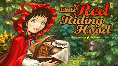 Little Red Riding Hood Short Story with Pictures and PDF