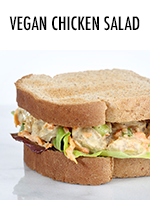 Vegan Chicken Salad with Seitan