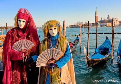 Karnaval Topeng di Venesia Carnival of Venice