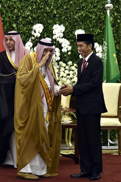 Jokowi : Indonesia-Arab Saudi Dipersatukan oleh Islam