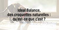Ideal Balance, des croquettes naturelles : qu'est-ce que c'est ?