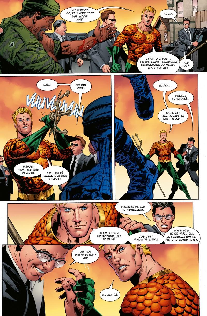 Aquaman tom 3 przykładowa strona