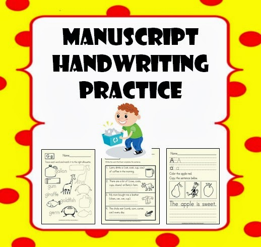 Tpt Fonts 4 Teachers Manuscript Handwriting Practice Worksheets 5th Grade Math Worksheets Manuscript Handwriting Practice Worksheets For Kids