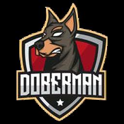 logo anjing dobberman