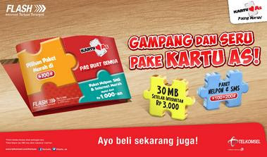 Cara Membuat Paket Facebook 500MB Telkomsel As Aktif 1 Minggu