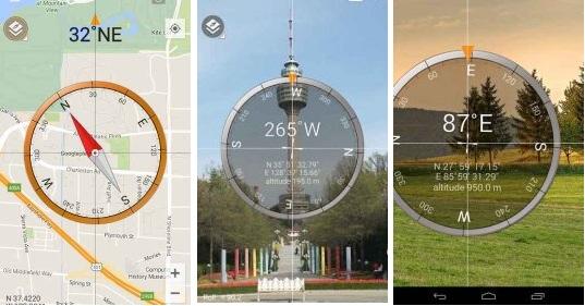 تطبيق بوصلة للاندرويد Smart Compass Pro النسخة المدفوعة مجانا