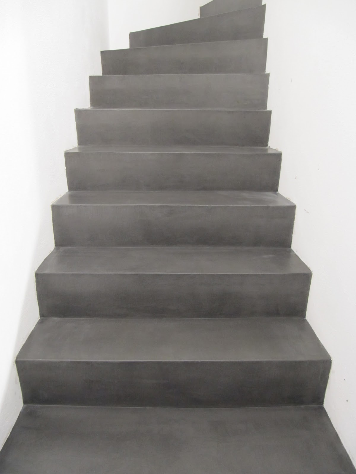 beton unique beton cire betontreppe. Black Bedroom Furniture Sets. Home Design Ideas