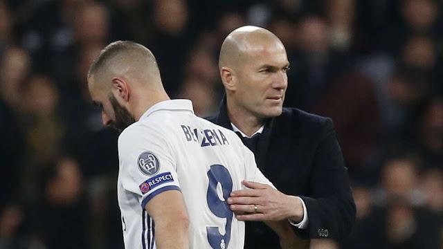 Zinadine Zidane & Karim Benzema