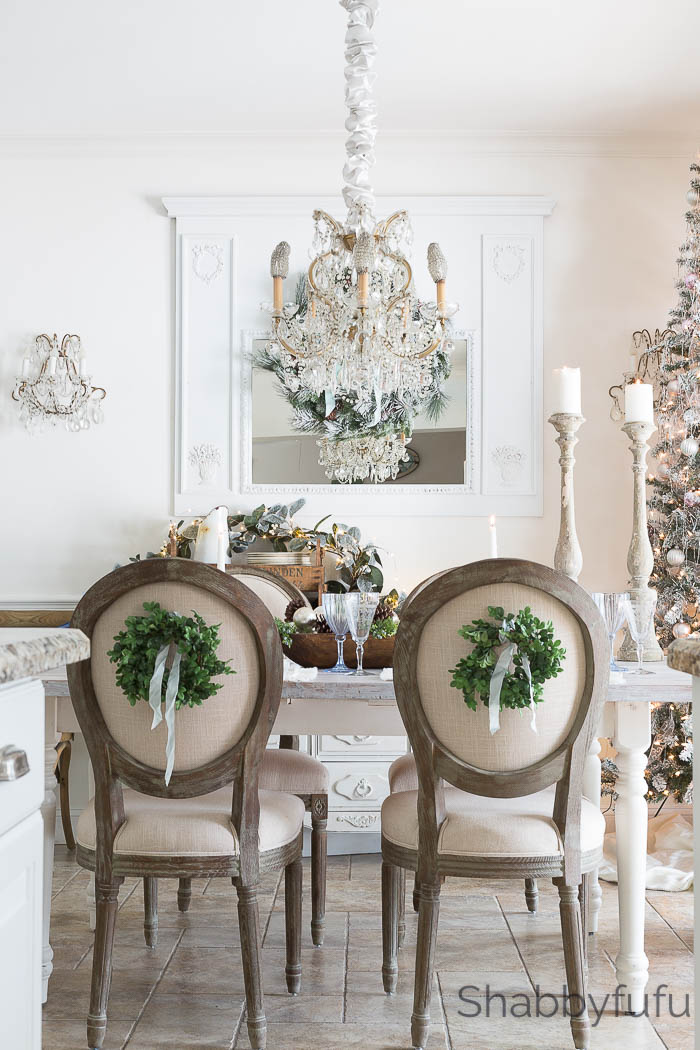 French Country Farmhouse Christmas - Style In Blue ...