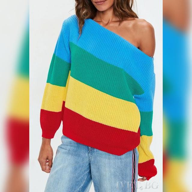 Εντυπωσιακό γυναικείο πουλόβερ πουλόβερ TALIKA