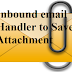 Inbound Email Handler to Save attachments Salesforce