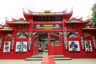 Vihara tempat ibadah agama Budha wisataarea.com