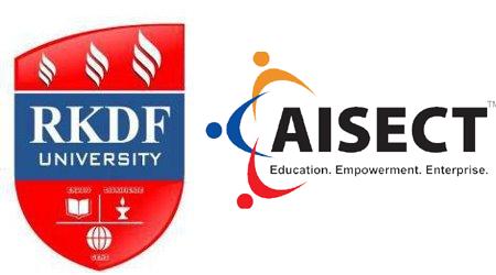 RKDF और AISECT कॉलेज के स्टूडेंट्स ने ढाबा तोड़ा